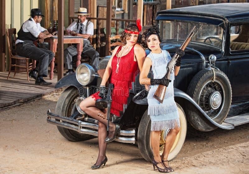Bandits féminins sensuels photographie stock libre de droits