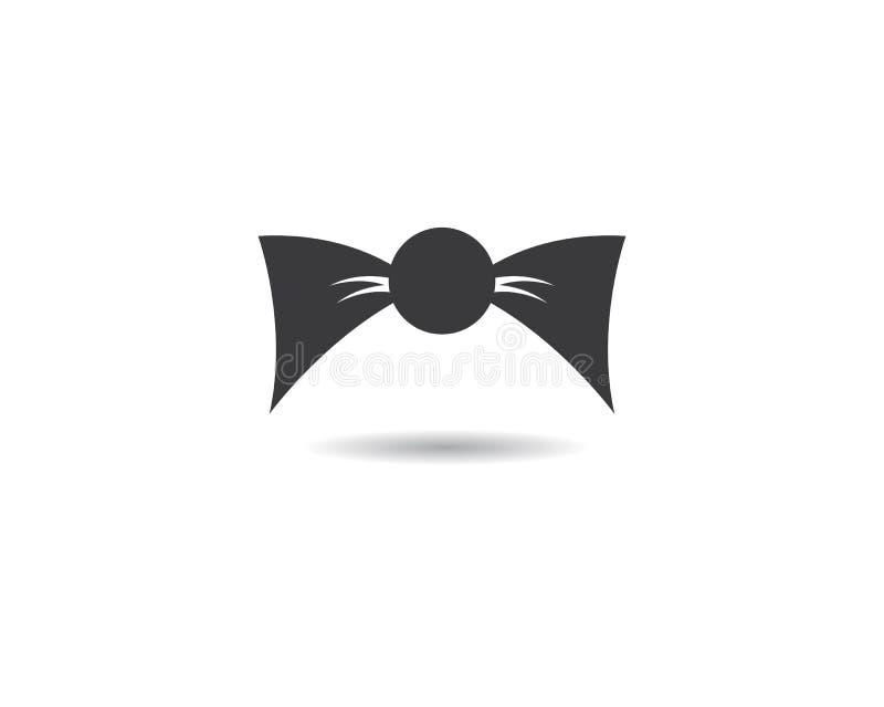 Bandlogomall vektor illustrationer