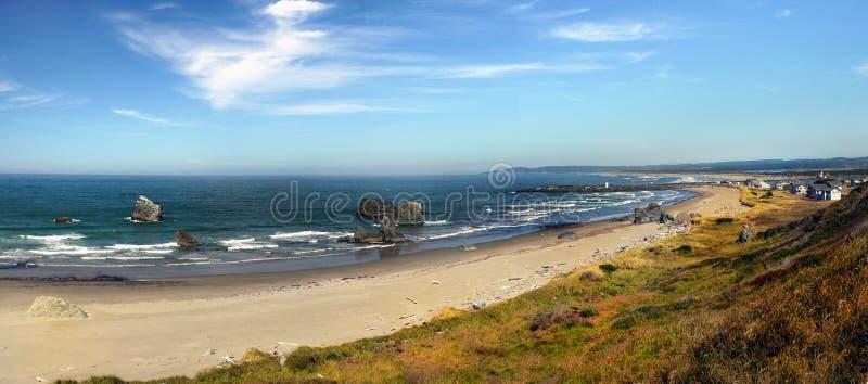Bandon plaża, Sceniczny Oregon wybrzeże obrazy royalty free