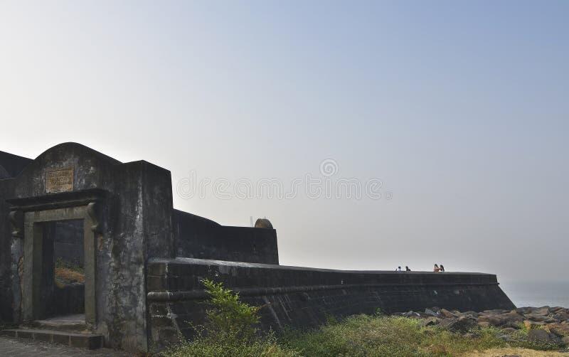 Bandra fort blisko Bandstand, Bandra, Mumbai, maharashtra, India zdjęcie royalty free