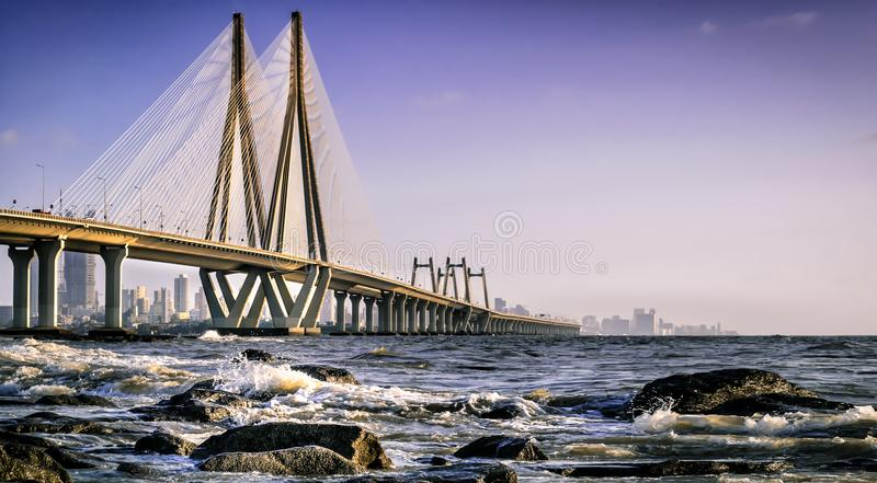 Bandra worli Sealink obrazy royalty free