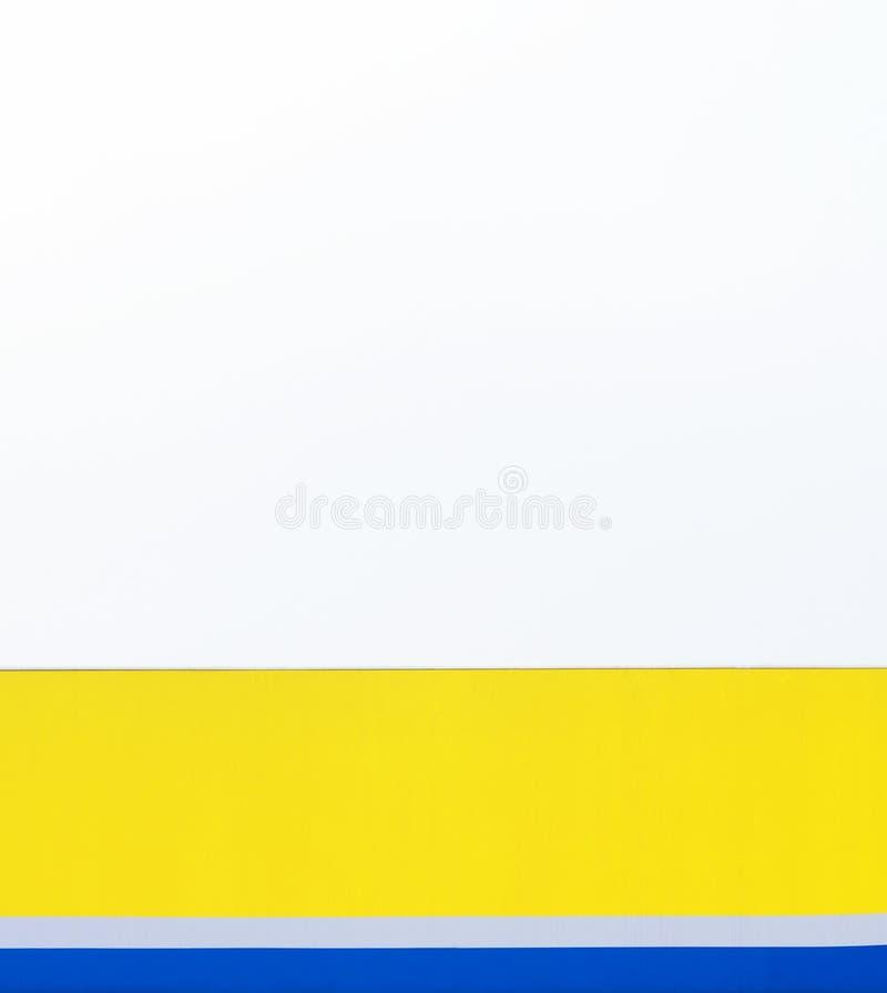 bands blå yellow för grå white stock illustrationer