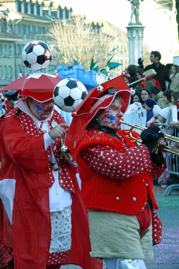 bandsmen masqueraded стоковое изображение