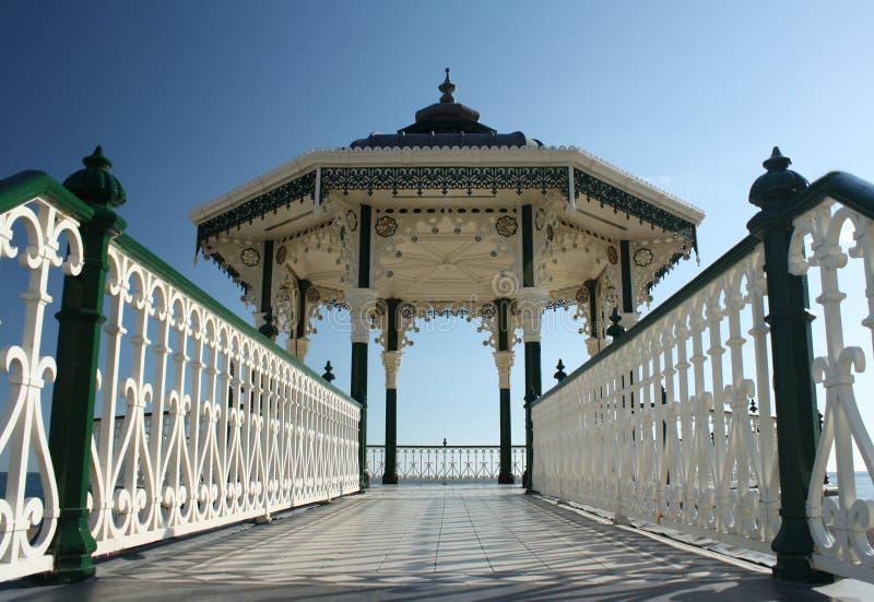 Download Bandstand stock image. Image of architecture, blue, elegant - 11198153
