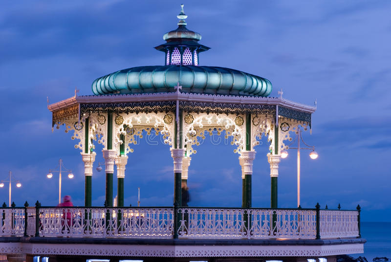 bandstand obrazy royalty free