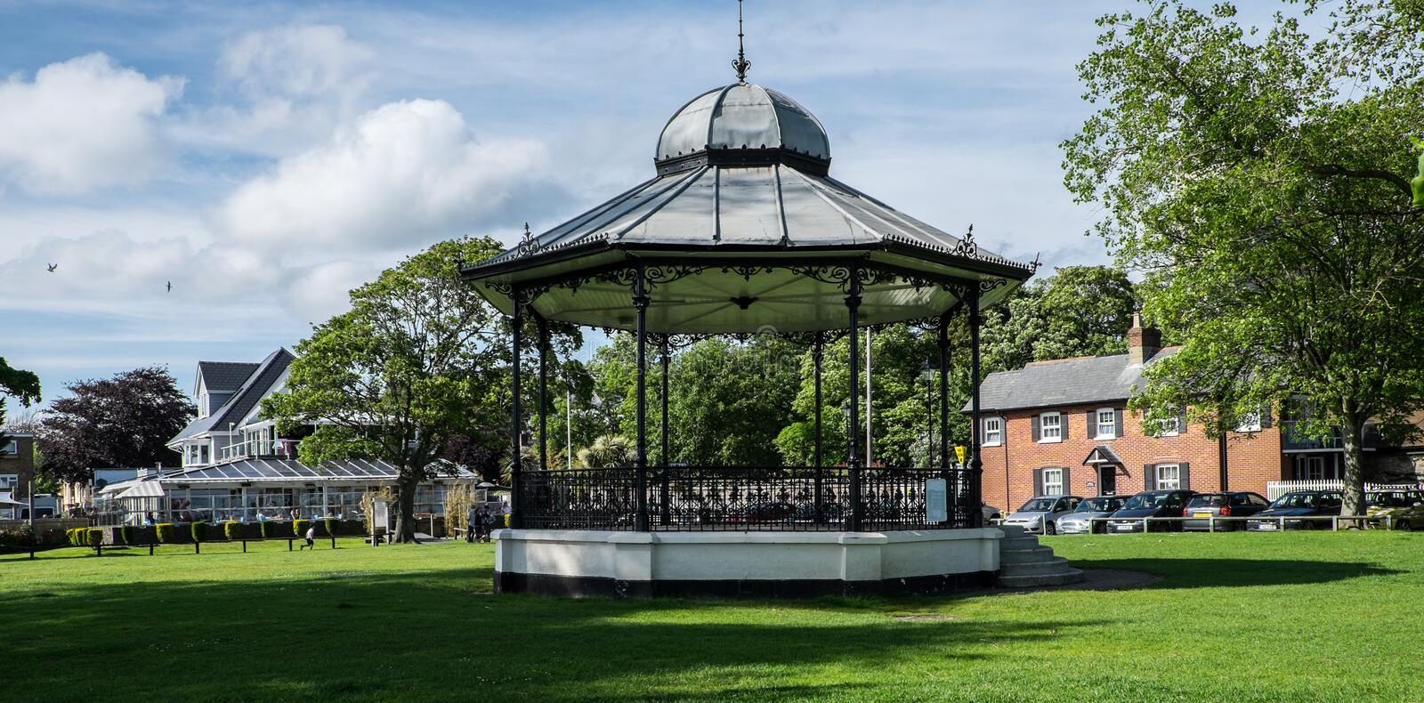 Bandstand, Christchurch obrazy royalty free