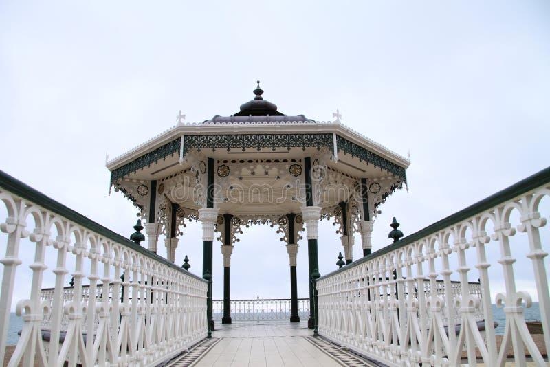 Bandstand del Victorian di Brighton   immagine stock libera da diritti