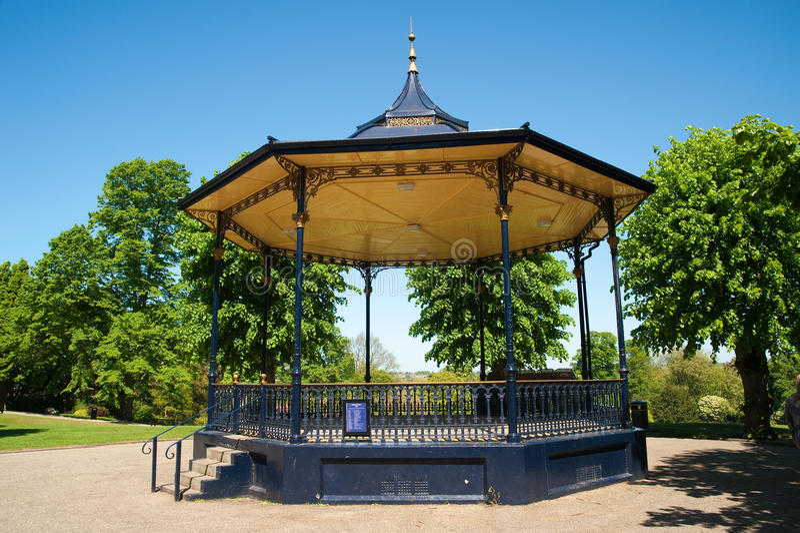 Bandstand im Park stockbild