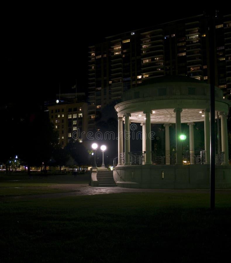 Bandstand sul terreno comunale fotografia stock
