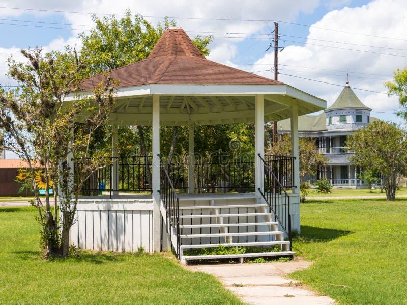 Bandstands są częścią Teksas historia obrazy stock
