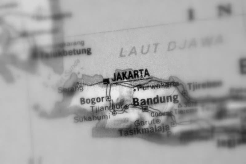 Bandung, een stad in Indonesië royalty-vrije stock fotografie