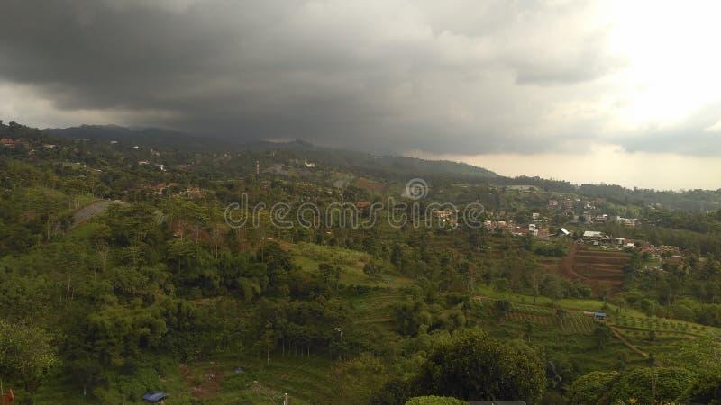 Bandung - Indonesische Aard stock afbeelding