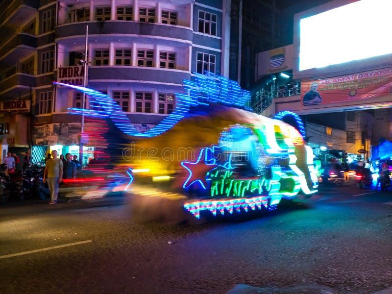 Bandung LightFest 2017 fotografía de archivo