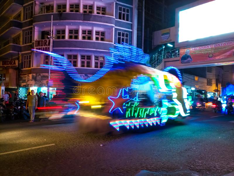 Bandung LightFest 2017 στοκ φωτογραφία