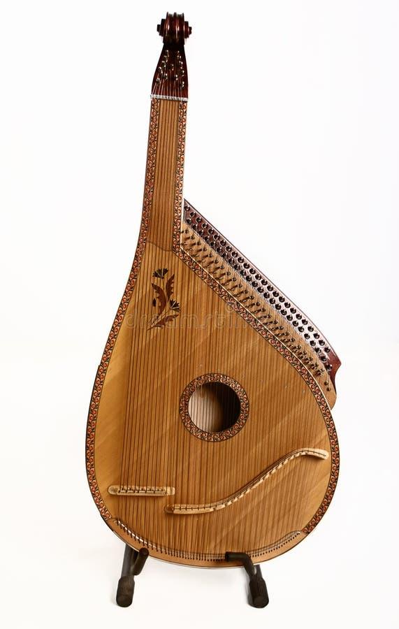 Bandura (Ukrainian string instrument) stock image