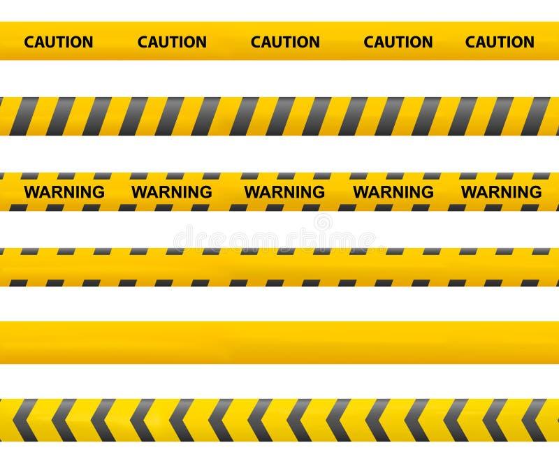 Bandvoorzichtigheid stock illustratie
