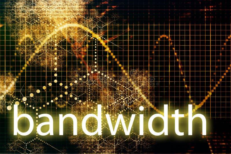 Bandwidth royalty free illustration