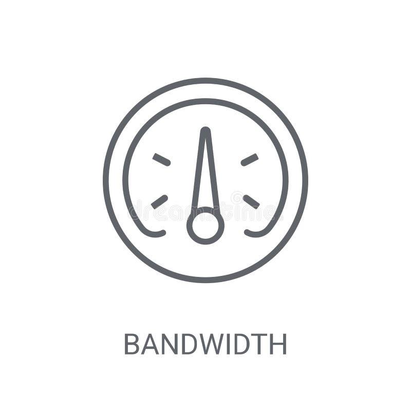 Free Bandwidth Icon. Trendy Bandwidth Logo Concept On White Backgroun Royalty Free Stock Photo - 133526855