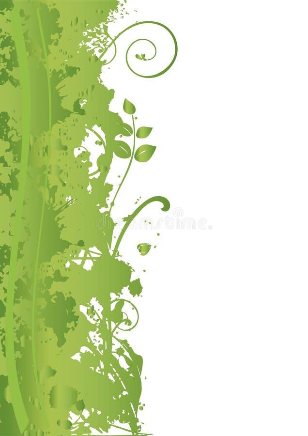 banergrungefjäder stock illustrationer