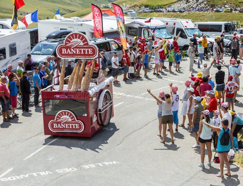 Mc Cain Vehicle In Alps - Tour De France 2015 Editorial