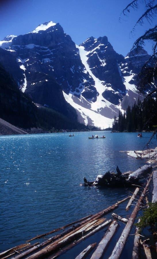 banff加拿大国家公园 免版税库存图片