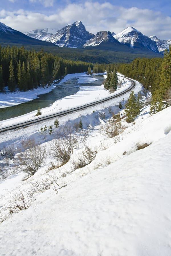 banff国家公园 库存照片