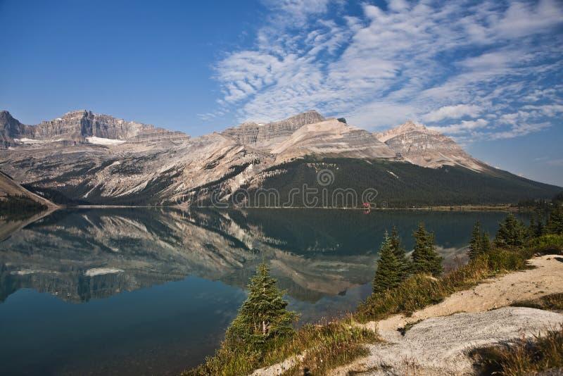 banff łęku jeziora park narodowy zdjęcia royalty free
