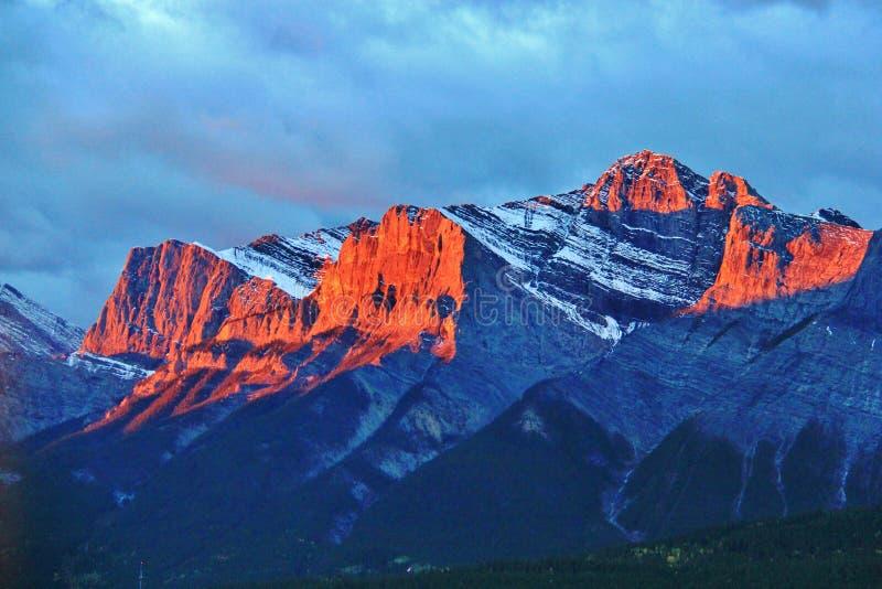 Banff, Αλμπέρτα, Καναδάς στοκ φωτογραφία με δικαίωμα ελεύθερης χρήσης