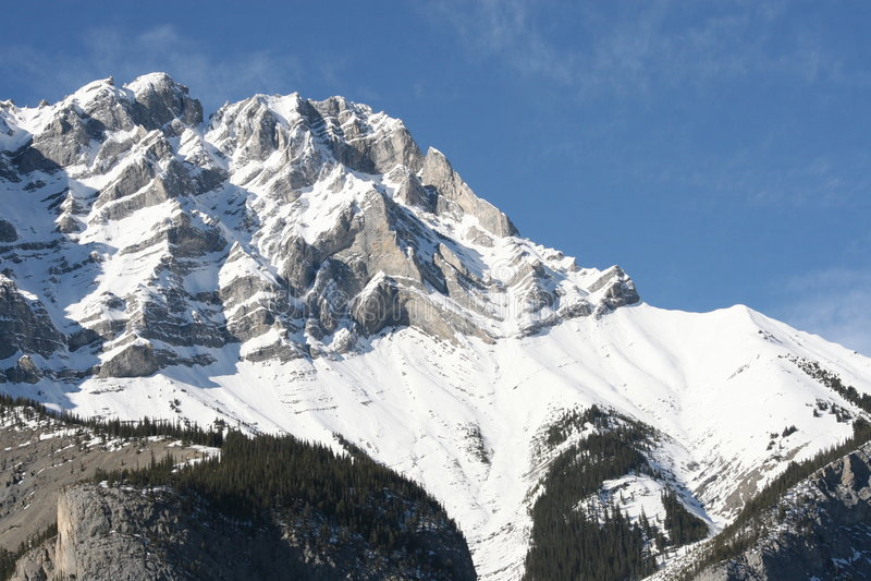 banff εθνικό πάρκο του Καναδά στοκ εικόνα με δικαίωμα ελεύθερης χρήσης