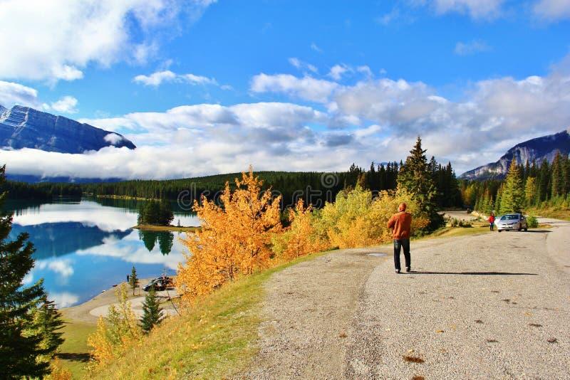 Banff, Альберта, Канада стоковые фото