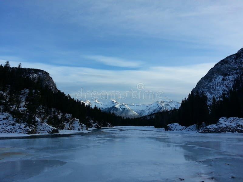 Banff fotografie stock