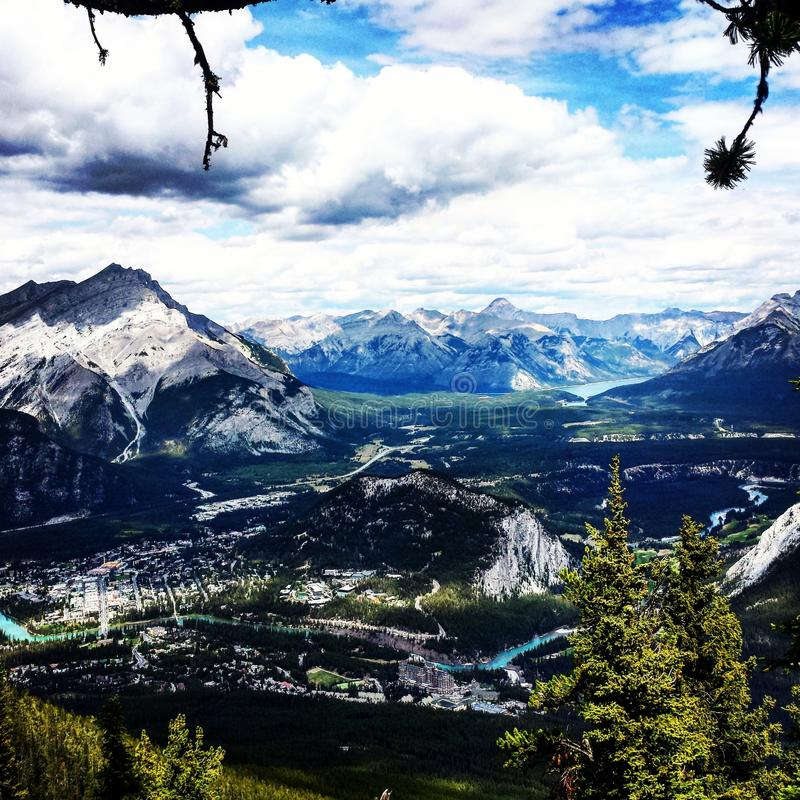 Banff, ab, Canada fotografia stock