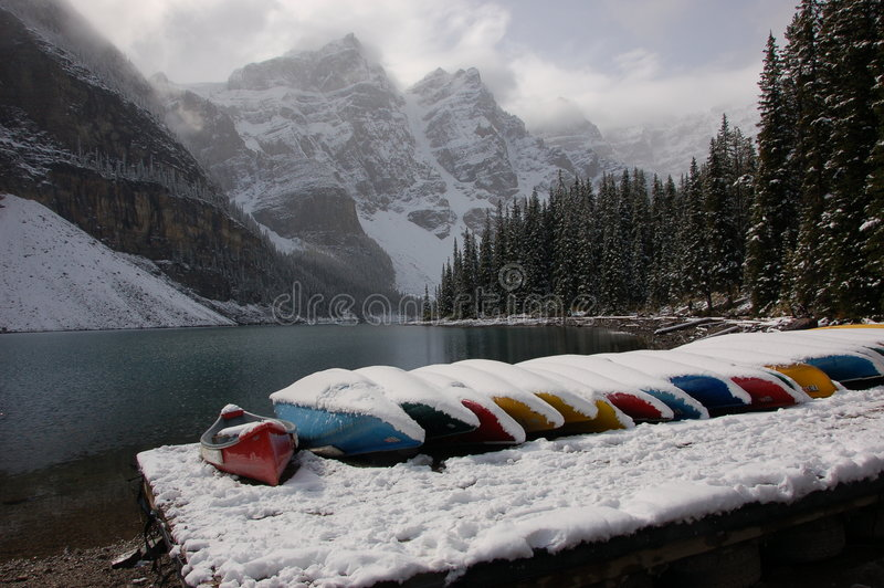 Banff, Alberta lizenzfreie stockbilder