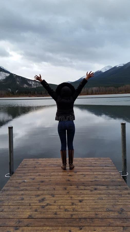 Banff, Alberta photo stock