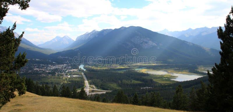 Banff, Alberta, Canadá foto de archivo libre de regalías