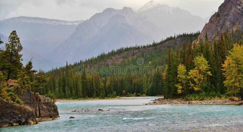 Banff, Alberta, Canada immagini stock libere da diritti