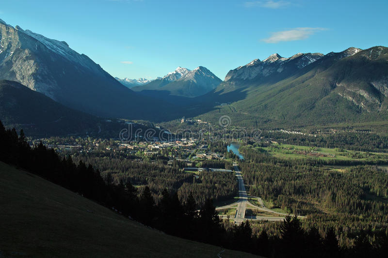 Download Banff Alberta Canada. stock image. Image of park, townsite - 32126081