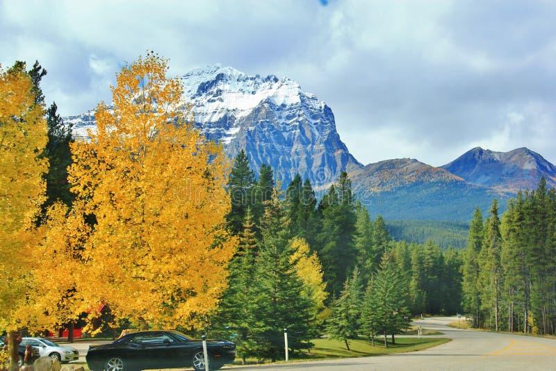 Banff, Alberta, Kanada fotografia stock