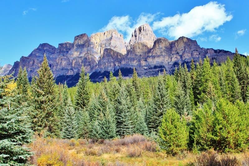 Banff, Alberta, Kanada obrazy royalty free