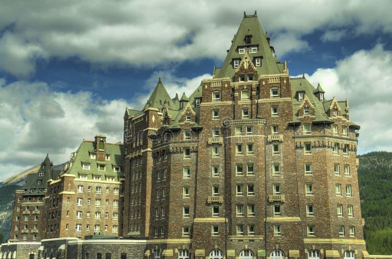 Banff Canada Hotel Exterior stock photography