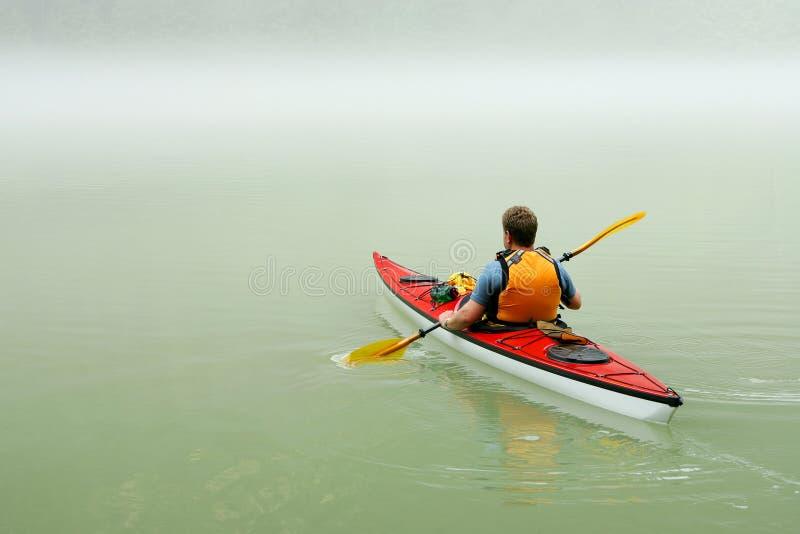 banff kayaking стоковое фото rf
