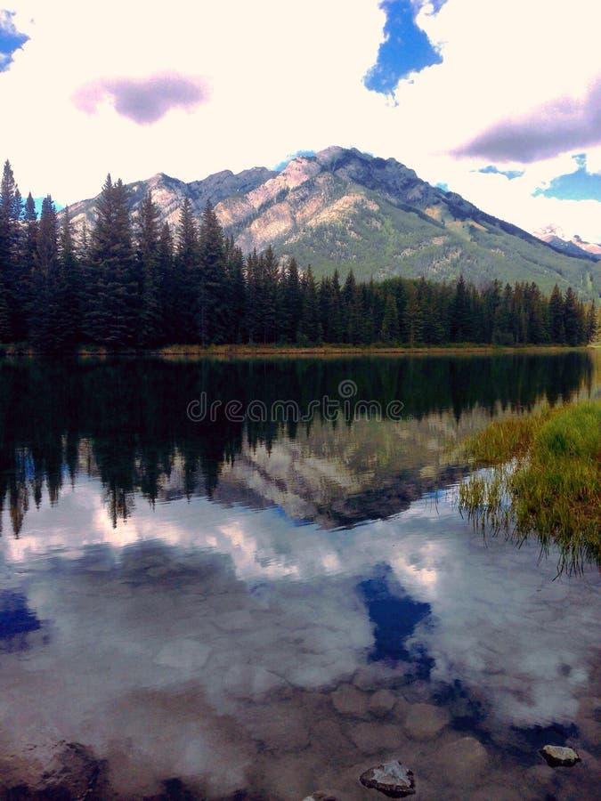 Banff lake royalty free stock images