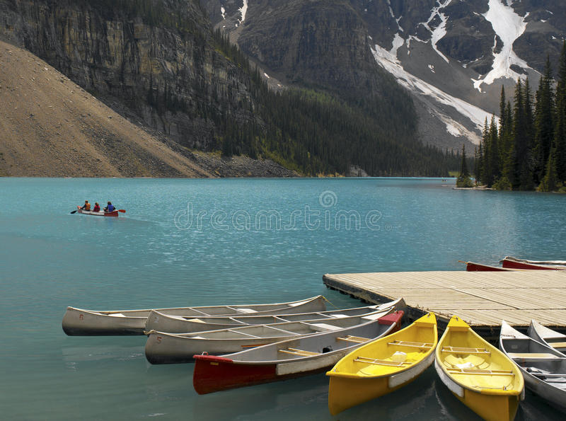 Banff National Park - Alberta - Canada stock photos
