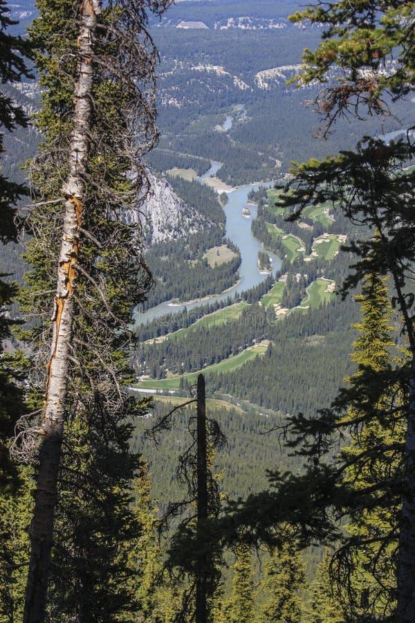 Banff panorama stock photos