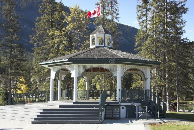 Banff Townsite immagine stock