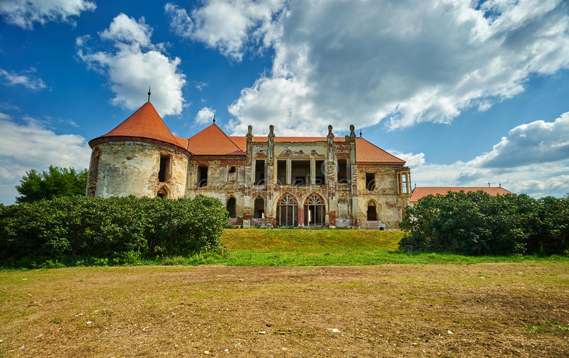 Banffy slott arkivfoto