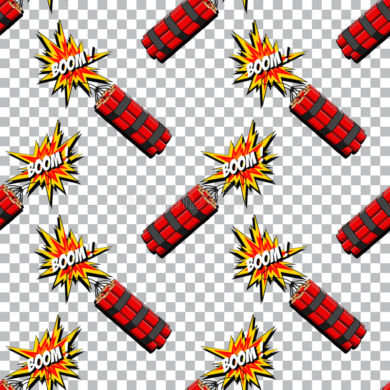 Bang med dynamitmodellen för eps-explosion för extra bok 8 komisk vektor för illustratör för format vektor illustrationer
