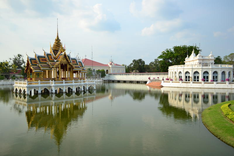 Download Bang Pa-In Palace Royalty Free Stock Photos - Image: 24397098
