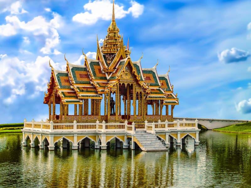 Download Bang Pa-in Royal Palace stock image. Image of royal, architectural - 30018285