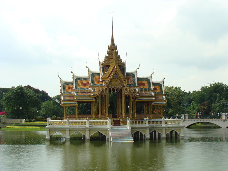 Bang Pa-In Royal Palace, Thailand royalty free stock photo